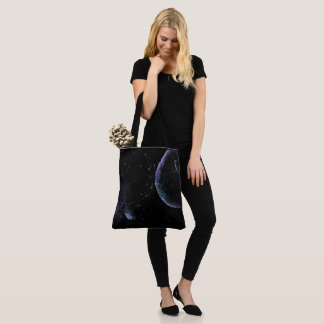 Planets in Universe Tote Bag