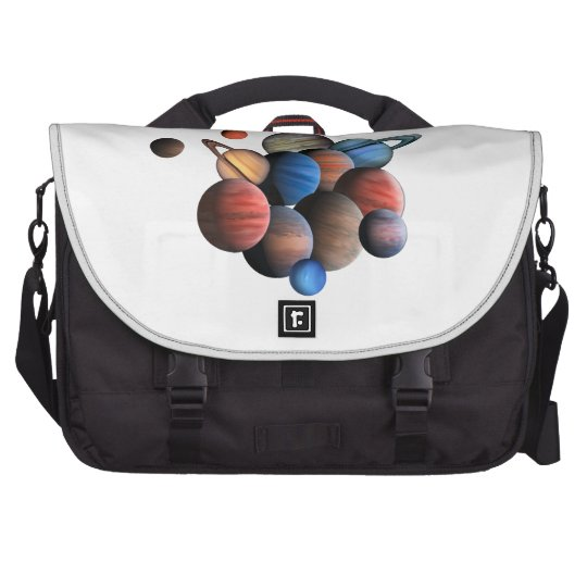 Planets Laptop Shoulder Bag