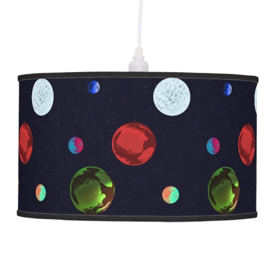 Planets Light Shade Pendant Lamps