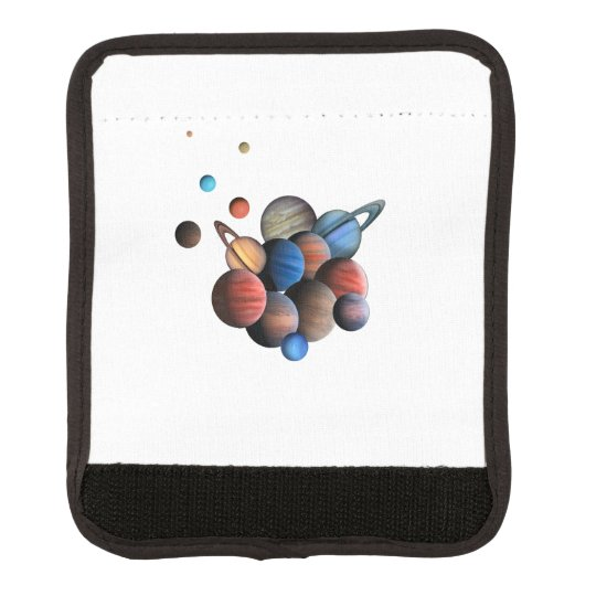 Planets Luggage Handle Wrap