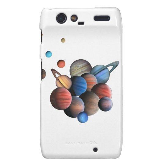 Planets Motorola Droid RAZR Cover