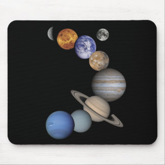 Planets Mouse Pad