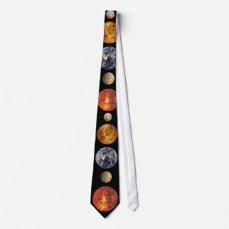 Planets Neck Tie