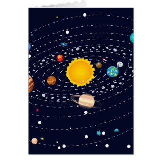 Planets of Solar System 2 Card