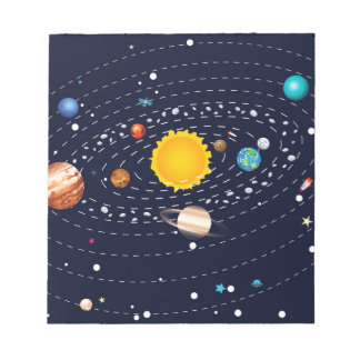 Planets of Solar System 2 Notepads