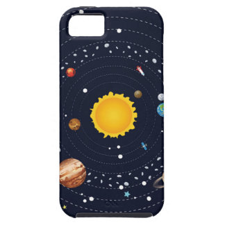 Planets of Solar System iPhone 5 Cases