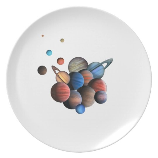 Planets Party Plate