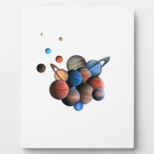 Planets Plaque