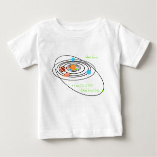 Planets poor pluto baby T-Shirt