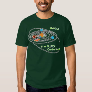Planets poor pluto T-Shirt