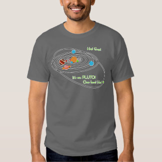 Planets poor pluto tees
