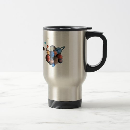 Planets Travel Mug