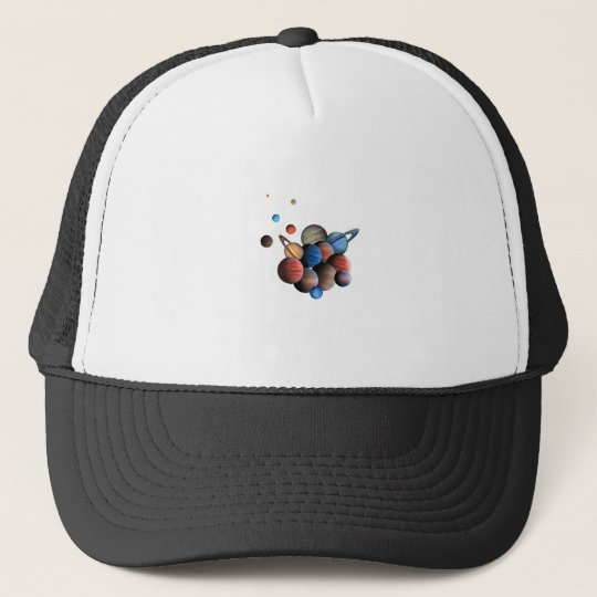 Planets Trucker Hat
