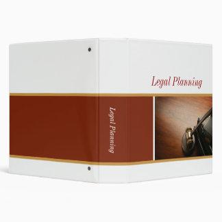 Planification juridique classeur 3 anneaux