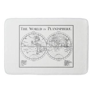 Planisphere Bath Mat