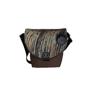 Plank of Wood Mini Messenger Bag