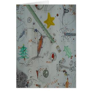 Plankton of Christmas Island Card