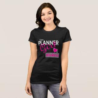 Planner Girl Loves Stickers T-Shirt