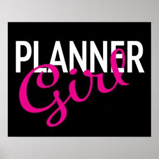 Planner Girl Poster