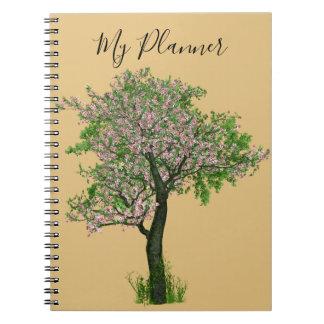 Planner tree cherry bare OM gold Notebook