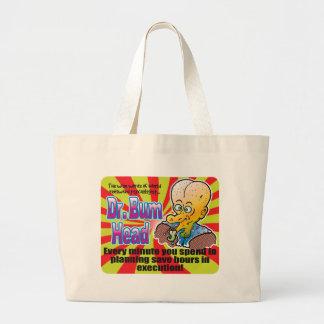 Planning, Dr Bum Head Jumbo Tote Bag