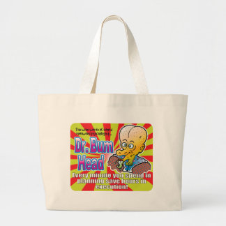Planning Dr Bum Head v2 Tote Bags
