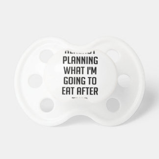 Planning What To Eat Pacifier