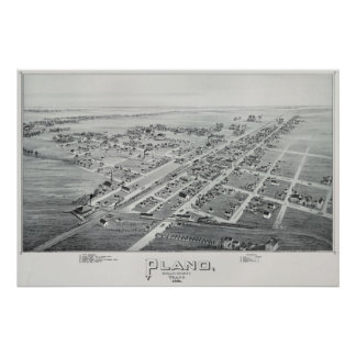 Plano 1891Overview Poster