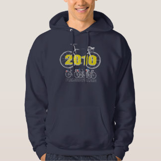 Plano Bicycle 2010 Cycling Logo White Hoodie