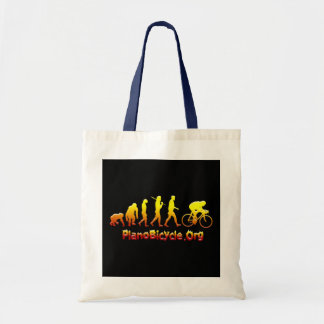 Plano Firestarter 3D Cycling Logo Budget Tote Bag