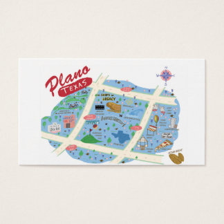 Plano Texas Business Card