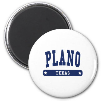 Plano Texas College Style tee shirts Magnet