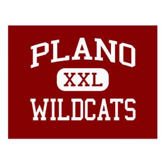 Plano - Wildcats - Senior - Plano Texas Post Cards