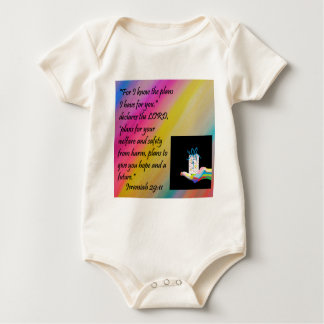Plans for Hope and a Future Baby Bodysuit