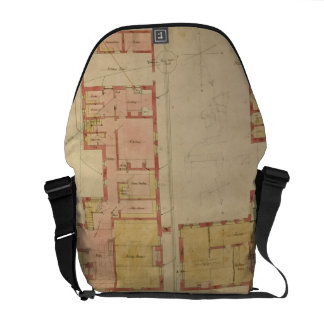 Plans for the Red House Bexley Heath 1859 pen a Messenger Bag
