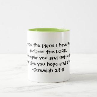plans for you Two-Tone coffee mug