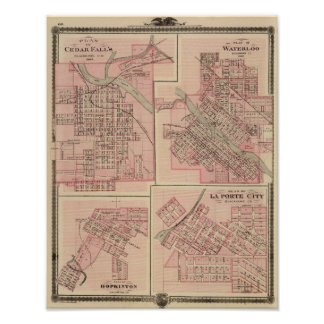 Plans of Cedar Falls 2 Poster