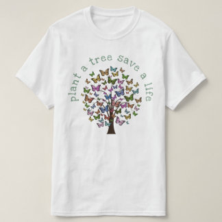 Plant a Tree Butterflies T-Shirt