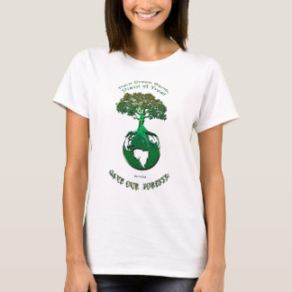 PLANT A TREE Ecology Art Earth Day Top