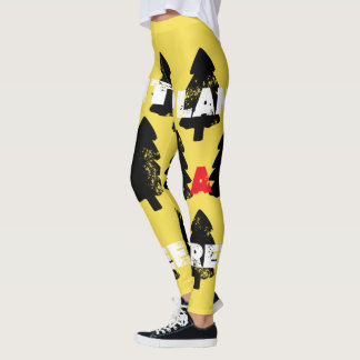Plant a tree Funky Print Leggings