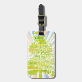 Plant A Tree (International Translation) Bag Tag