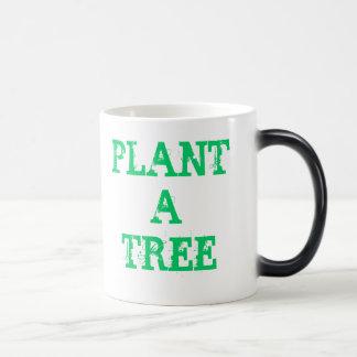 Plant a tree magic mug
