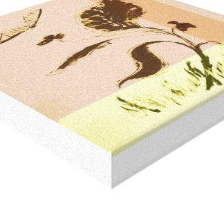 Plant artwork (12 x 12) 30.5 cm x 30.5 cm canvas print