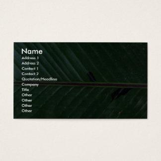 Plant Banana Up Business Card