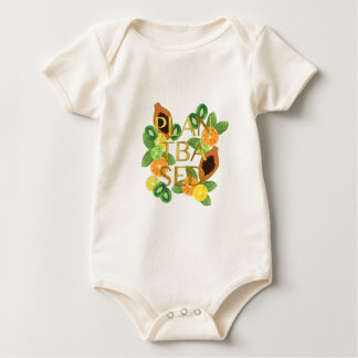 PLANT BASED FRUIT BABY BODYSUIT