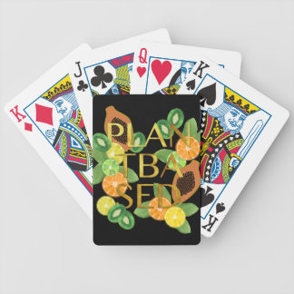 PLANT BASED FRUIT BICYCLE PLAYING CARDS