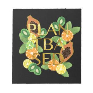 PLANT BASED FRUIT NOTEPAD