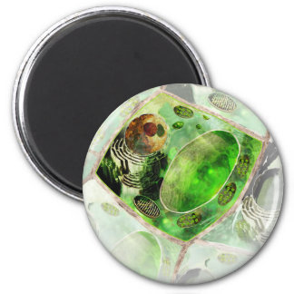 plant cell2 2 inch round magnet