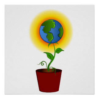 Plant For Earth Poster