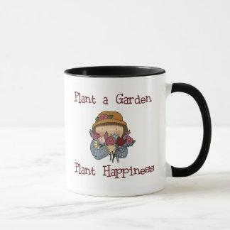 Plant Happiness Gardening Mug